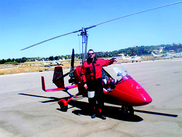 Brit's solo adventure from UK to Portugal in an Autogyro