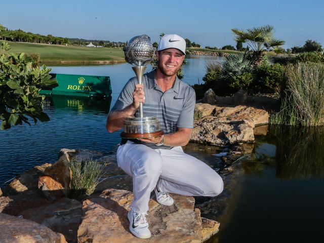 Bjerregaard storms to Portugal Masters title