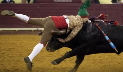 Anti-bullfight activists removed from Albufeira bullring