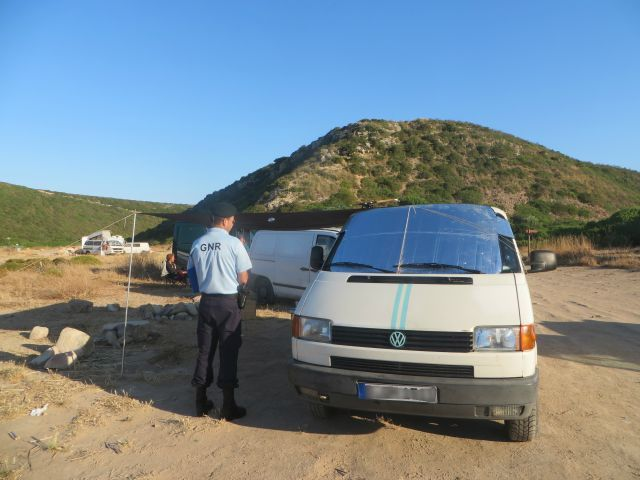 Aljezur to clamp down on 'wild camping' and motorhomes
