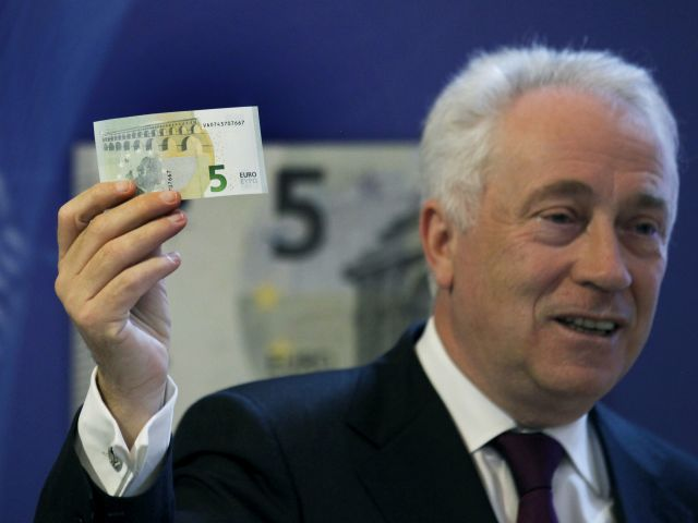 Machines rejecting new €5 note