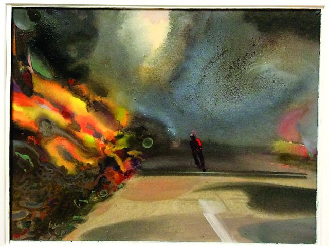 Exhibition inspired by Portugal wildfires