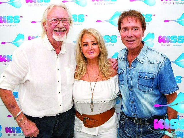 Solid Gold Sunday Interview with Sir Cliff Richard  and Bonnie Tyler
