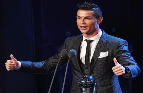 Cristiano Ronaldo could claim record sixth player of the year award