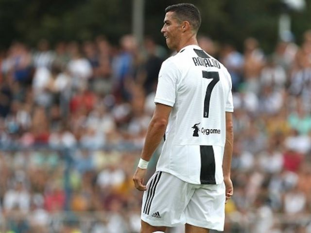 Ronaldo on target for Juventus