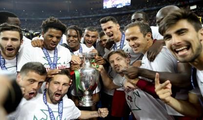 Portugal crowned European champions