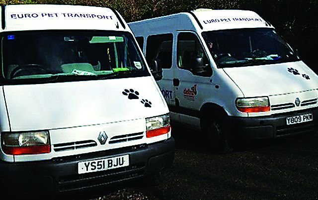 Euro Pet Transport looking after your valuable cargo!