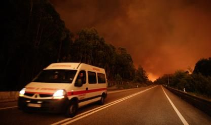 Portugal fire - EU pledges aid