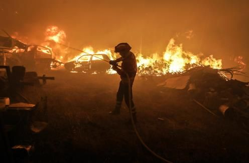 Fires consume five times annual average