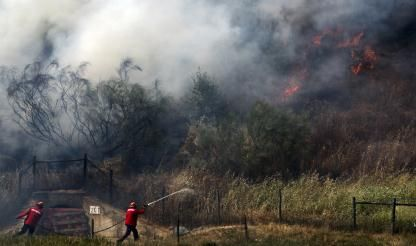 Algarve areas remain under highest fire alert