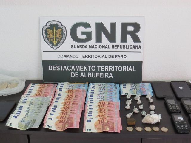 Police arrest trio for drug trafficking in Albufeira and Boliqueime