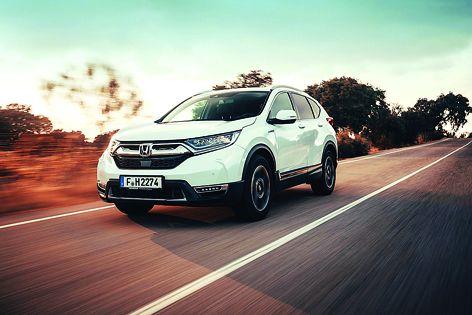 Honda unveils its Hybrid CR-V