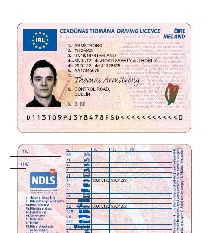 fake driving licence template - new european driving licence comes into effect the