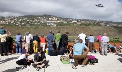 Blustery winds divert flights to Cristiano Ronaldo airport
