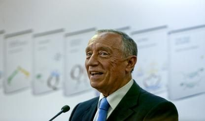 President 'happy' with Portuguese economy, warns of external factors