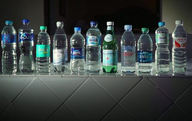 Bottled Water With Microplastics On Sale In Portugal The