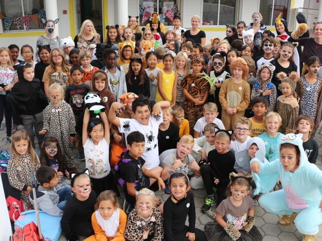 Nobel Pupils Wear it Wild and Raise Money for Endangered Animals