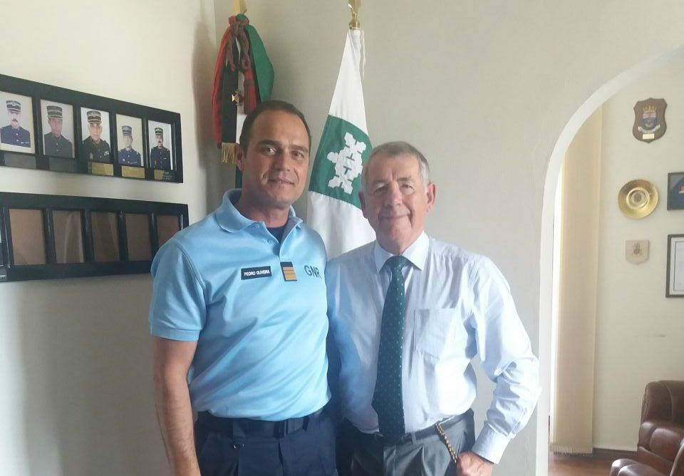 Safe Communities Portugal welcomes new GNR Commander