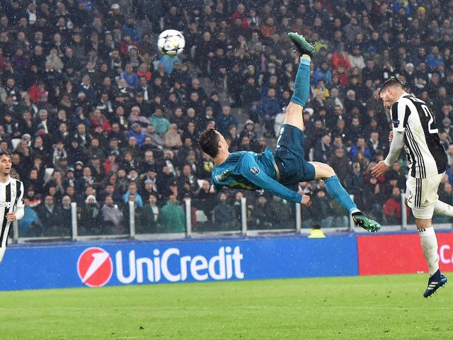Cristiano Ronaldo's overhead kick wins Goal of the Season