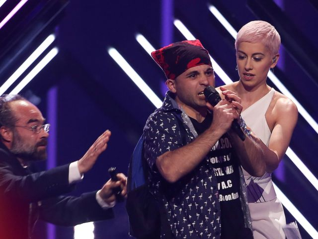 Lisbon court releases Eurovision stage invader on bail