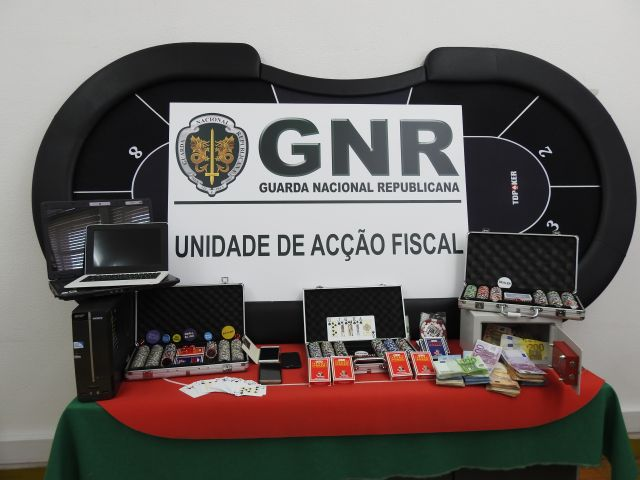 GNR closes down illegal Olhão casino