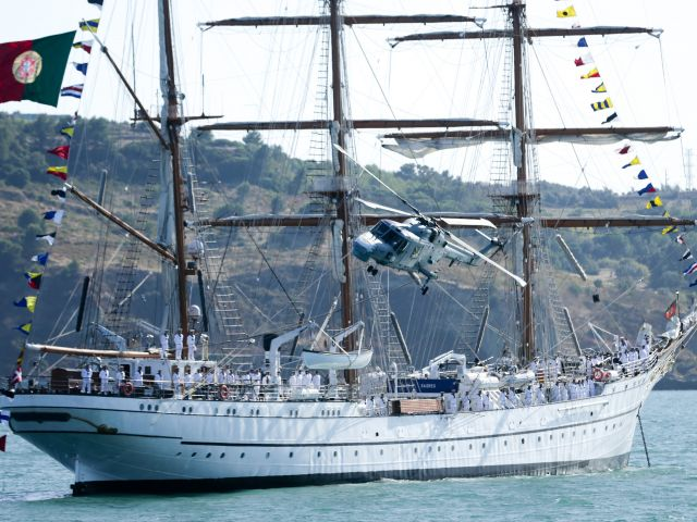 Sagres Tall Ship to visit Faro for first time