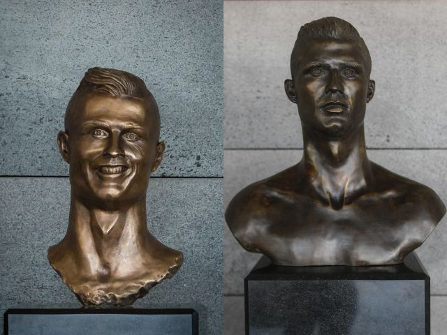 Cristiano gets a 'facelift'