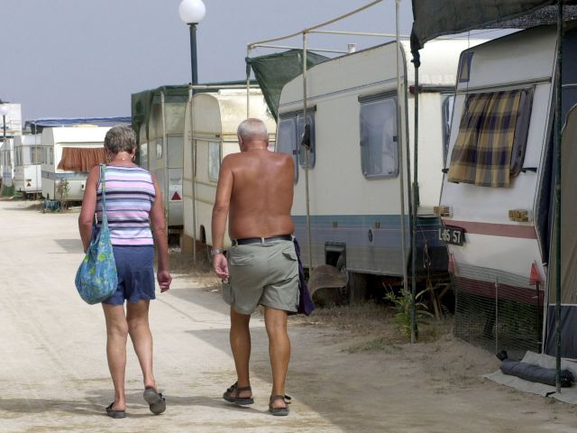 Faro island long-term campers have to leave by next year