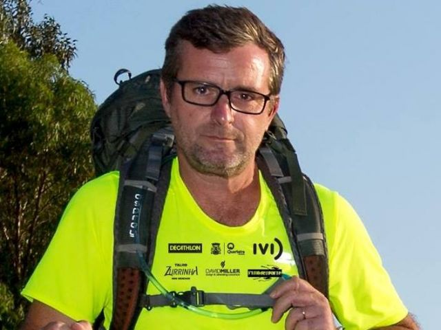 Algarve man walks length of county to raise awareness about endometriosis