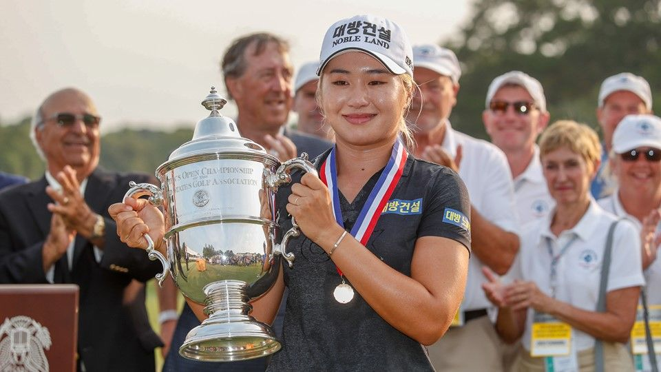 Jeongeun Lee triumphs at US Women's Open