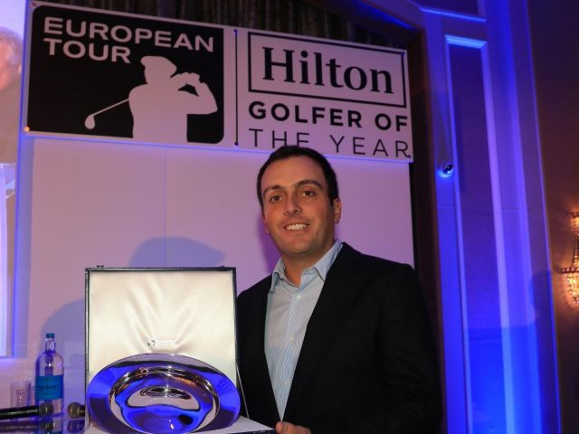 Molinari named golfer of the year
