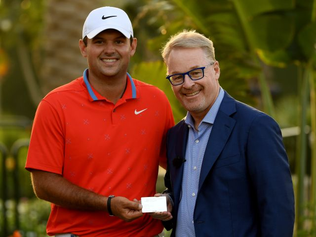 Patrick Reed becomes European Tour Honorary Life Member