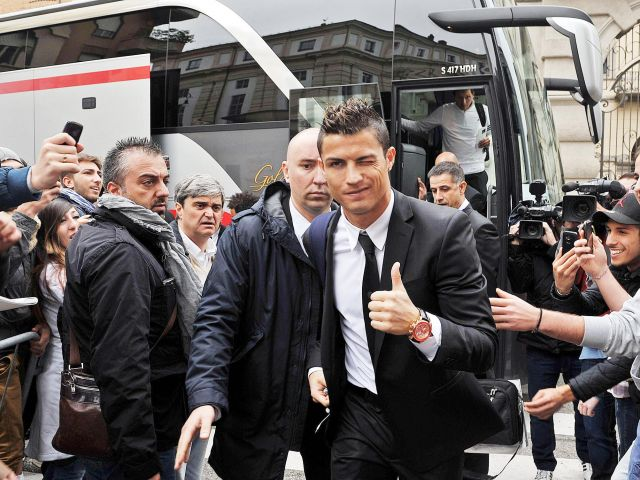 Cristiano Ronaldo unveiled at Juventus