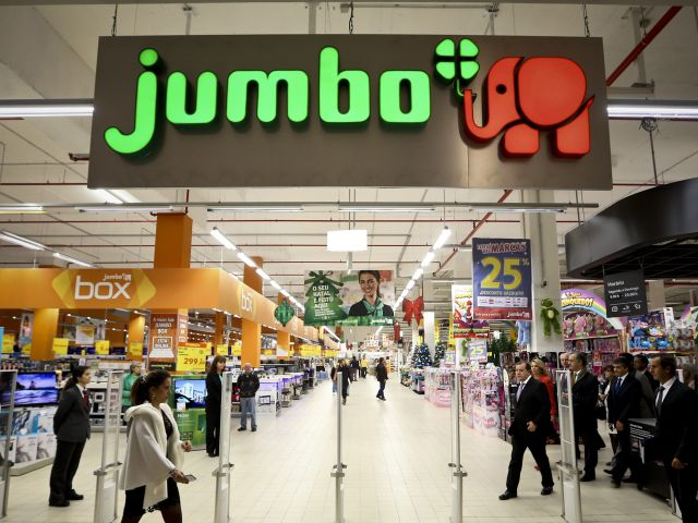 Jumbo found to be Portugal's cheapest supermarket
