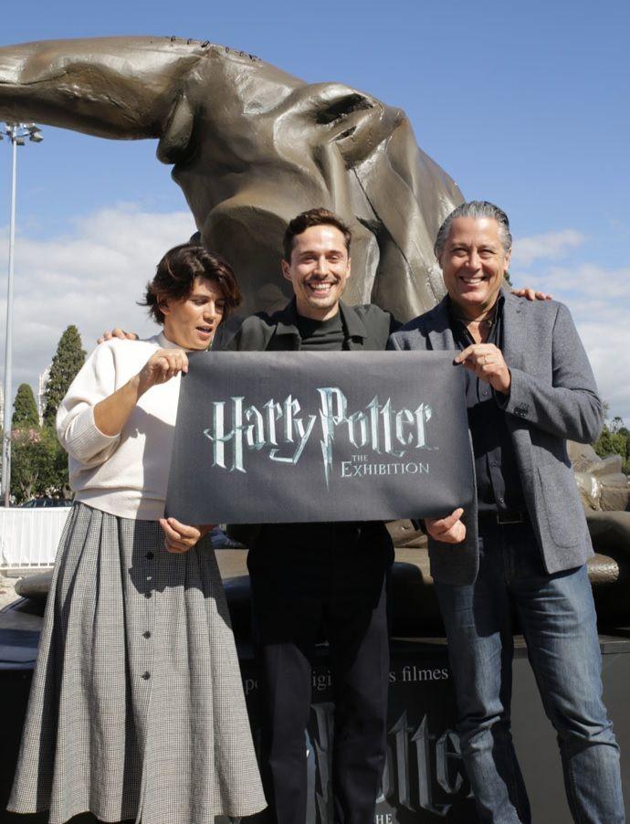 Giant Harry Potter Sculptures invade Lisbon The Portugal News