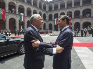 President concludes 'short but useful' state visit to Mexico