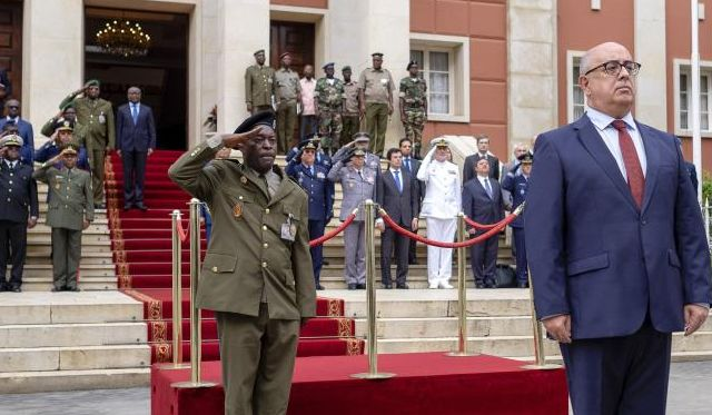 Defence minister starts five-day Angola trip to boost 'excellent' ties