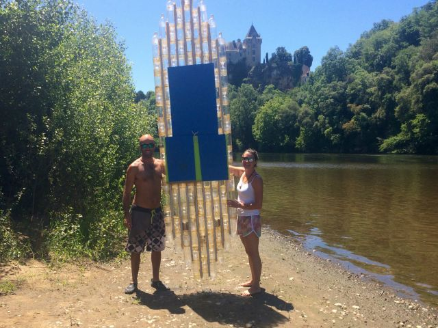 Eco-couple bring SUP Marathon against Plastic Pollution to Portugal