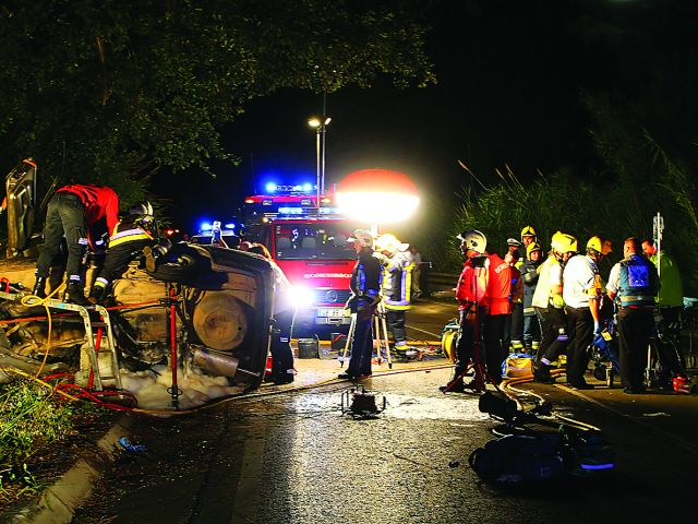 Road deaths climb once more