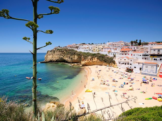 Praia do Carvoeiro voted Europe's Best Beach