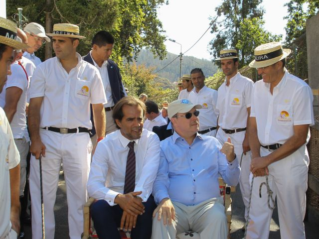 Prince Albert of Monaco visits Madeira