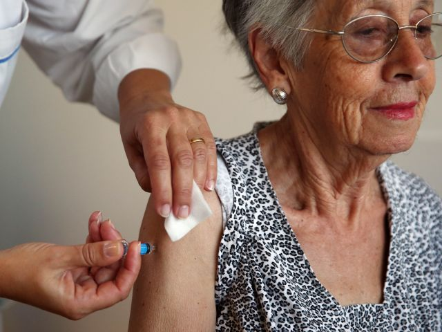 Large majority of over-65's and health workers vaccinated against flu