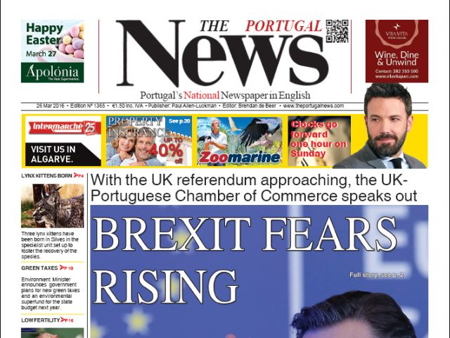 March 2016 - Brexit fears rise