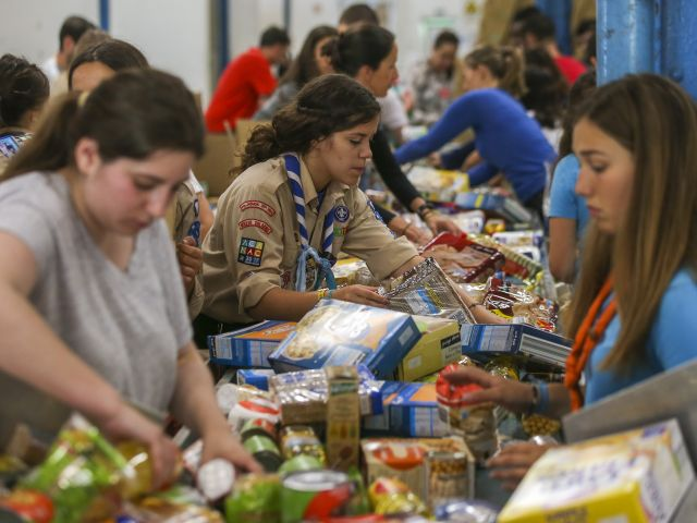 National food bank collects over 1,600 tons of food