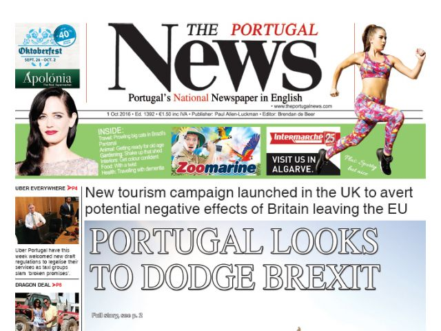 October 2016 - Portugal tourism looks to dodge Brexit