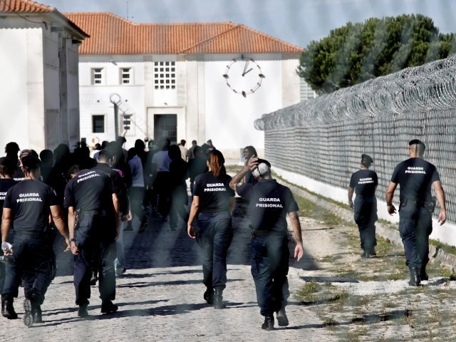 Portugal with high proportion of inmates