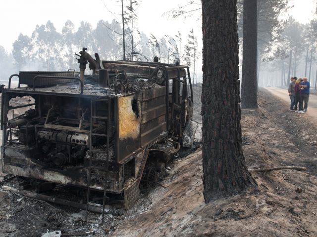 Portugal reels from wildfires