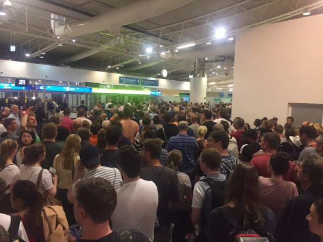 SEF says Sunday chaos at Faro airport which delayed flights was 'unique situation'