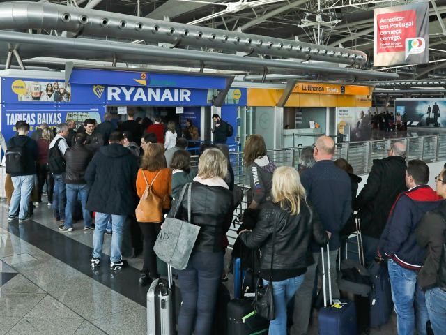 Close to three dozen flights cancelled in three days of Ryanair cabin crew strikes