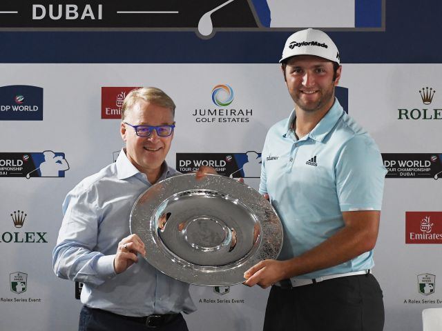 Jon Rahm named Sir Henry Cotton Rookie of the Year
